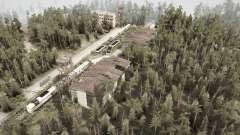 Лесной район v1.1 для MudRunner