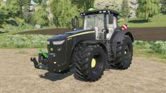 John Deere 8R-series black version для Farming Simulator 2017
