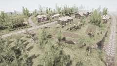 Посёлок и Уральский хребеҭ 2 для MudRunner