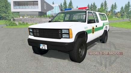 Gavril D-Series U.S. Border Patrol v2.1 для BeamNG Drive