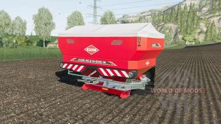 Kuhn Axis 40.2 M-EMC-W 42m spaying width для Farming Simulator 2017
