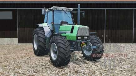 Deutz-Fahr AgroStar 6.61 tires slightly widened для Farming Simulator 2015