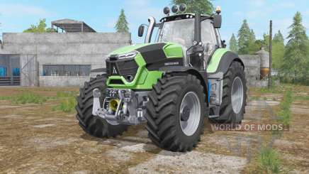 Deutz-Fahr 9-series added light sources для Farming Simulator 2017