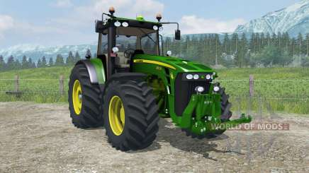 John Deere 8530 MoreRealistic для Farming Simulator 2013