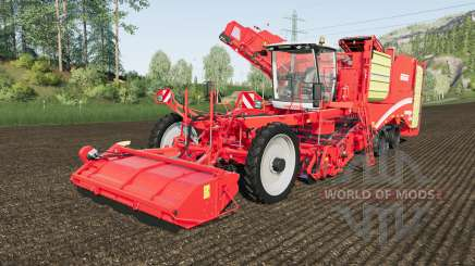 Grimme Varitron 470 capacity 48500 liters для Farming Simulator 2017