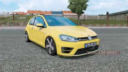 Volkswagen Golf R-Line (Typ 5G) 2013 v1.5 для Euro Truck Simulator 2