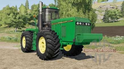 John Deere 8970 original textures для Farming Simulator 2017