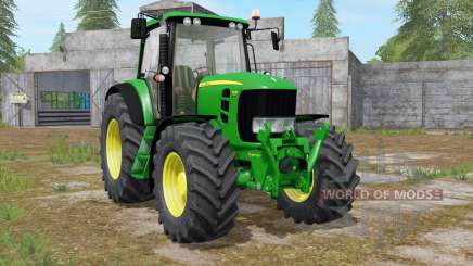 John Deere 7430 Premium animated display для Farming Simulator 2017