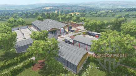 Knaveswell Farm Extended для Farming Simulator 2015