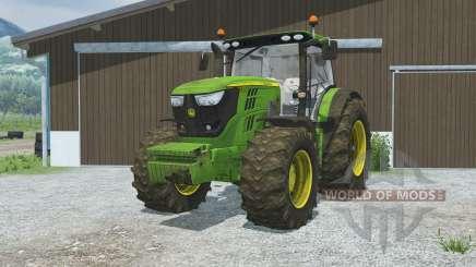 John Deere 6170R&6210R front loader для Farming Simulator 2013