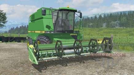 John Deere 2058 & 818 для Farming Simulator 2013