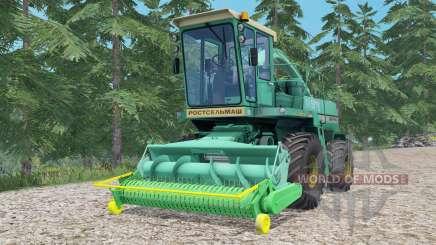 Дон-680 бирюзовый для Farming Simulator 2015