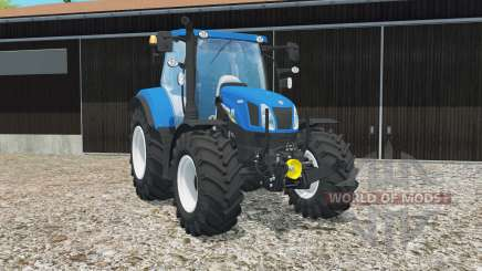 New Holland T6.160 gloss entfert completely для Farming Simulator 2015