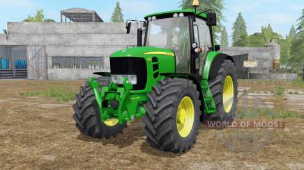 John Deere 7430〡7530 Premium для Farming Simulator 2017
