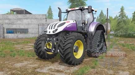 Steyr Terrus 6000 CVT raupenfahrwerk для Farming Simulator 2017