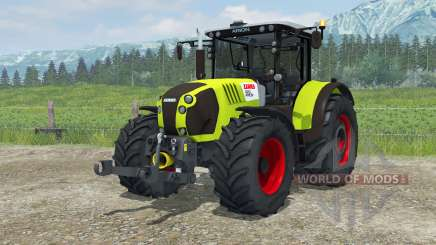 Claas Arion 620 animated interior для Farming Simulator 2013