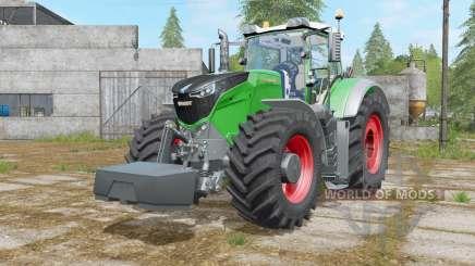 Fendt 1000 Vario with weight для Farming Simulator 2017