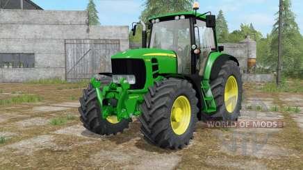 John Deere 7430&7530 Premium islamic green для Farming Simulator 2017