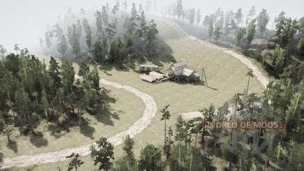 Лесовоз v2.0 для MudRunner