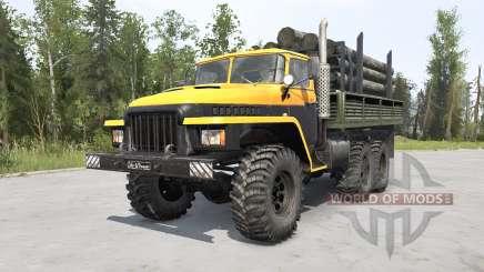 Урал-375Д Мажор v1.2 для MudRunner
