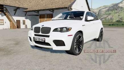 BMW X6 M (E71) 2009 anti flash white для Farming Simulator 2017