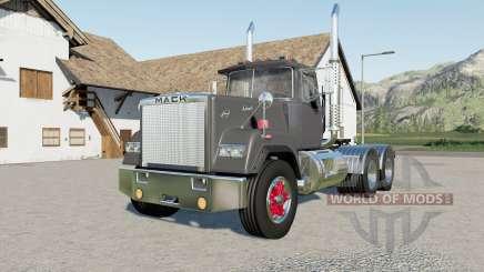 Mack Super-Liner Day Cab more options для Farming Simulator 2017