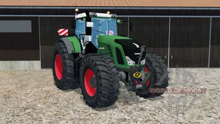 Fendt 939 Vario adjustable rear hitch для Farming Simulator 2015