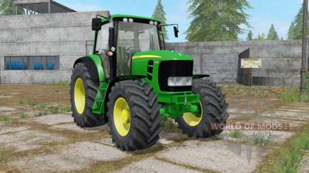 John Deere 7430 Premium with power selection для Farming Simulator 2017