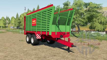 Hawe SLW 45 silage trailer для Farming Simulator 2017