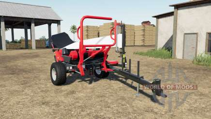 Ursus Z-586 light brilliant red для Farming Simulator 2017