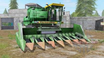Дон-1500Б салатовый для Farming Simulator 2017