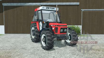 Zetor 7340 manual ignition для Farming Simulator 2013