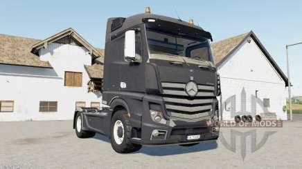 Mercedes-Benz Actros (MP4) davys grey для Farming Simulator 2017