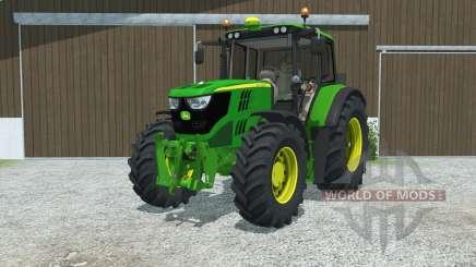 John Deere 6115M manual ignition для Farming Simulator 2013