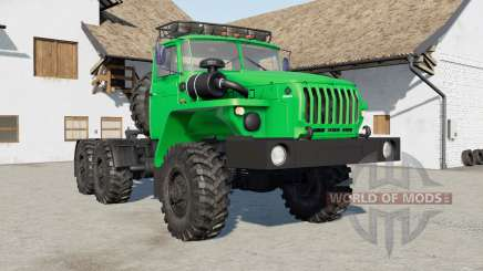 Урал-4420 зелёный для Farming Simulator 2017