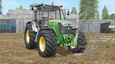 John Deere 5075M〡5085M〡5100M〡5115M для Farming Simulator 2017