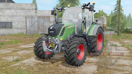 Fendt 310&313 Vario with beacon lights для Farming Simulator 2017