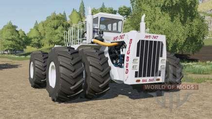 Big Bud 16V-747 all wheel steer для Farming Simulator 2017