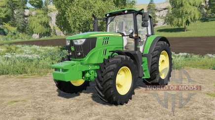 John Deere 6M-series with SeatCam для Farming Simulator 2017