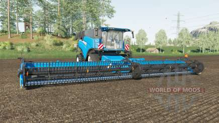 New Holland CR10.90 spanish sky blue для Farming Simulator 2017