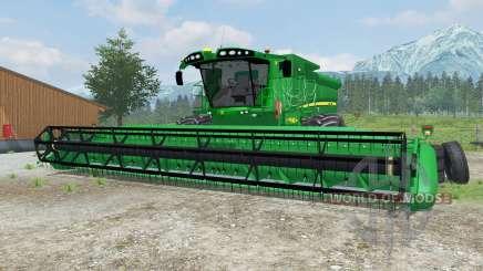 John Deere S690i manual ignition для Farming Simulator 2013