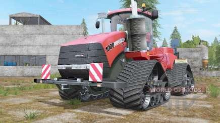 Case IH Steiger 1000 Quadtrac Red Baron для Farming Simulator 2017