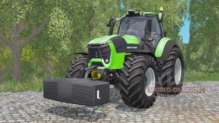 Deutz-Fahr 9340 TTV Agrotron with weighƫ для Farming Simulator 2015