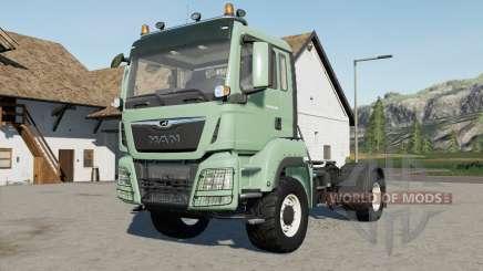 MAN TGS 18.500 1000 hp для Farming Simulator 2017