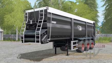 Krampe Sattel-Bandit 30-60 trailer hitch для Farming Simulator 2017