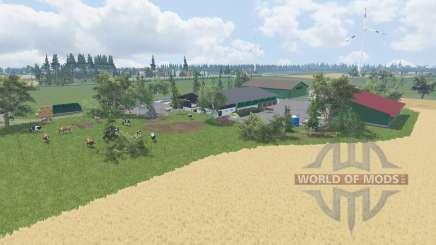 Am Deich для Farming Simulator 2015