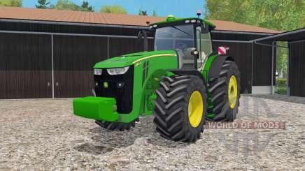 John Deere 8370R IC controᶅ для Farming Simulator 2015