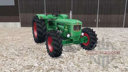 Deutz D80 munsell green для Farming Simulator 2015