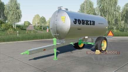 Joskin AquaTrans 7300 S для Farming Simulator 2017