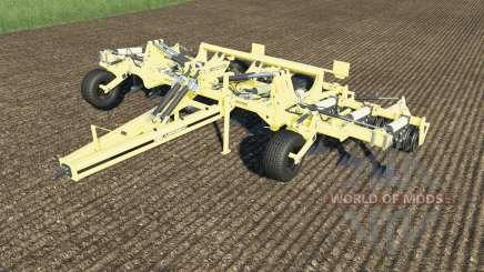 Agrisem Cultiplow Platinum work speed 25 km-h для Farming Simulator 2017